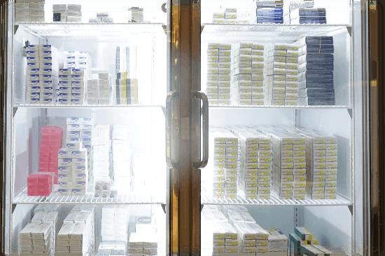 疫苗保存性﹑接種及採購疫苗流程 Fridge01 3