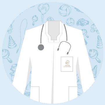 專業團隊 兒科醫生 icon